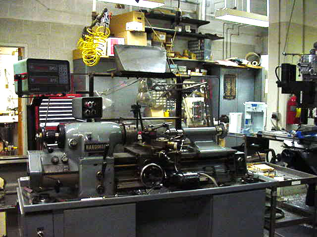 Machine Shop Services & Equipment