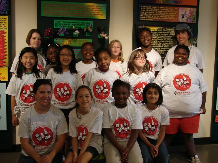 June 2012 – Orpheum Children's Museum Day Camp – Girls Do Science