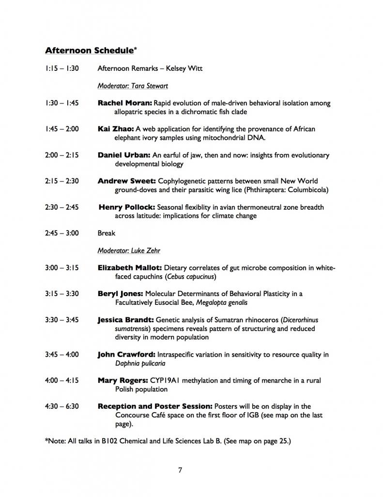 symposium schedule 2